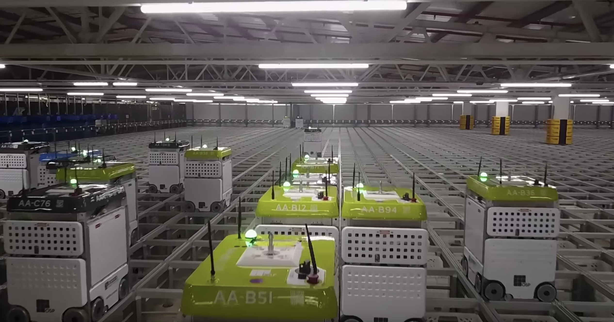 Ocado Showcases Robotic Warehouse Fulfilment System