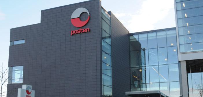 Posten Norge announces revenue figures for Q2 2018