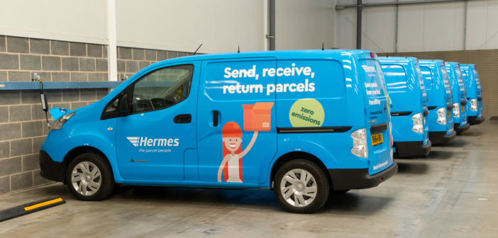 """Hermes expands electric vehicle fleet with 100% renewable fuel HGVs Hermes has expanded its fleet of electric vehicles with the largest ever initial order of compressed natural gas (CNG) vehicles in the UK, and is also the first parcel carrier to order a fleet of HGV tractor units running on 100% renewable bio methane. Hermes is also introducing 32-strong fleet of 100% electric vans to service the Central London area inside the low emission zone. The electric fleet will be housed at Gemini Park in Beckton, which will serve more than 100 delivery rounds inside the low emission zone. Hermes delivers on average 6,500 parcels per day in the UK capital, rising to 11,000 per day during peak. The CNG for 30 new Iveco HGV tractor units will be supplied by CNG Fuels, the only UK supplier of Renewable Transport Fuel Obligation-approved bio methane. Each of these vehicles is expected to reduce the Hermes fleet's greenhouse gas emissions by more than 80% compared with a comparable diesel vehicle, resulting in a reduction of 4,500 tons of CO₂ across the 30 CNG vehicle fleet per year. The tractor units were introduced following a six-month trial and will be based at the Hermes Super hub in Rugby, which is near to the CNG refueling station. Hermes is working toward reducing CO₂ emissions by 50% by 2020. Martijn de Lange, CEO of Hermes UK, said, """"We're proud of our strides forward in sustainability as we become the first parcel carrier to invest in biofuels for our fleet. This, plus the additional investment in our electric vehicles, will not only support our clients in achieving their sustainability goals, but also ultimately benefit people across the UK as we all look to reduce our carbon footprint. """"As a parcel carrier delivering within Central London, we are committed to helping improve air quality in the capital and supporting London on its path to a zero-emission future, so we look forward to continuing to collaborate with Transport for London."""""""