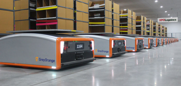 XPO Logistics to deploy 5,000 collaborative warehouse robots in North America and Europe