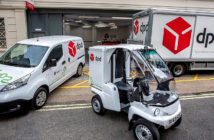 DPD opens UK's first all-electric parcel depot