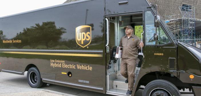 UPS/GreenBiz study identifies motivators and barriers to electric fleets