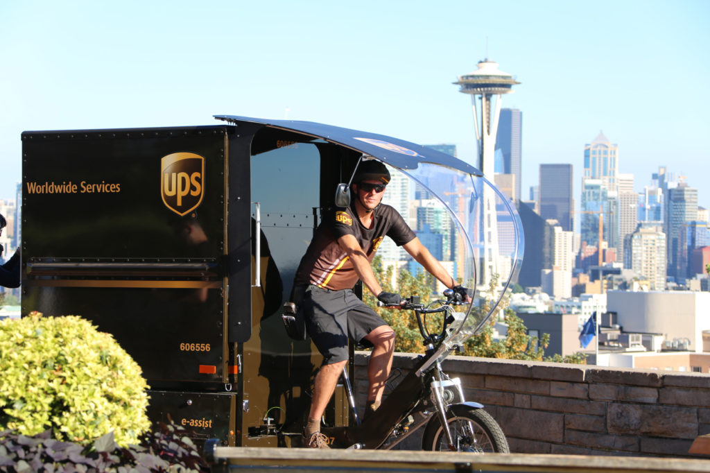 UPS launches urban delivery solution in Seattle