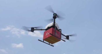 JD.com launches first government approved drone flight in Indonesia