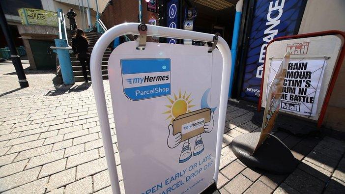 hermes parcel drop shop near me