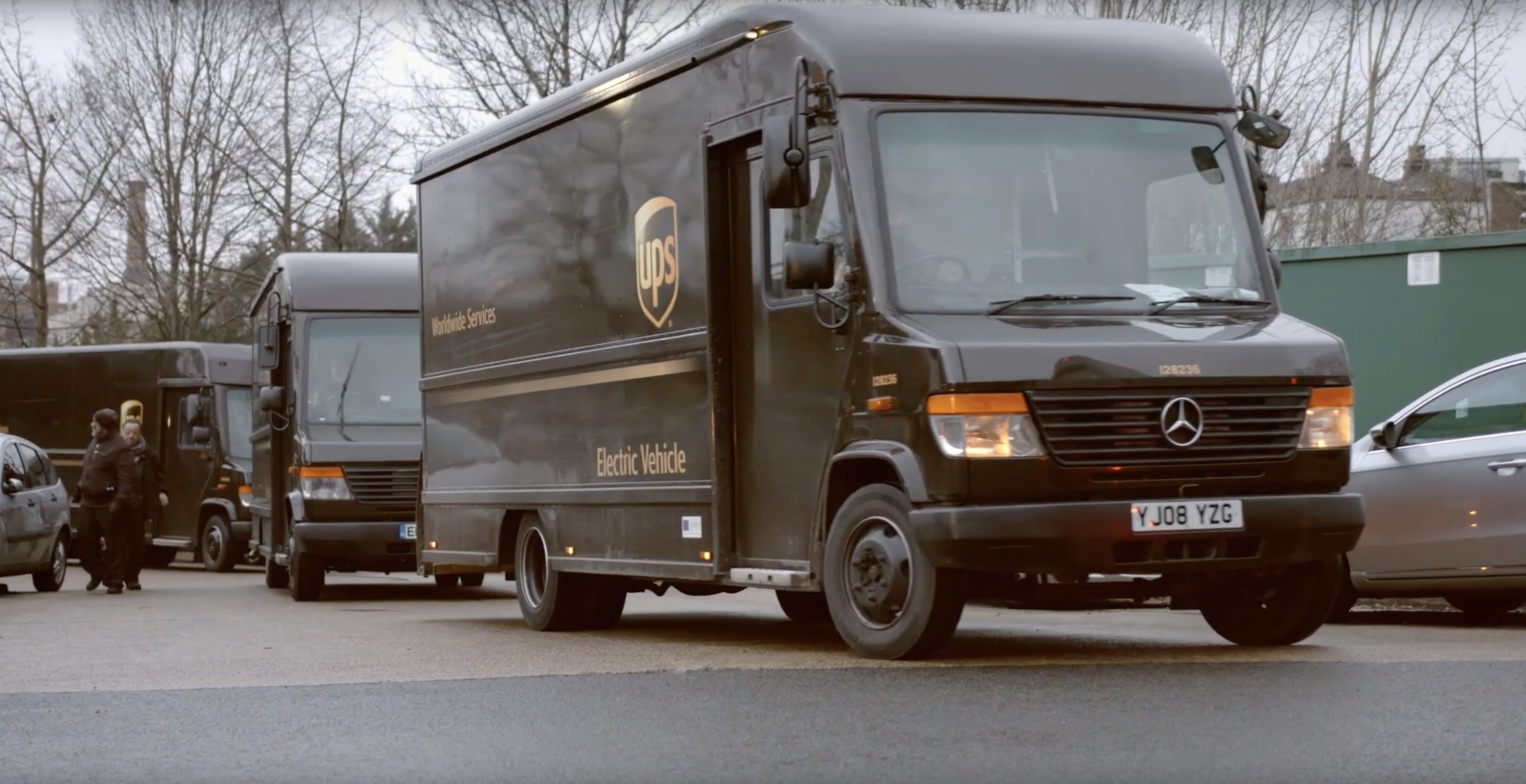 UPS electrifies its London delivery fleet - Parcel and