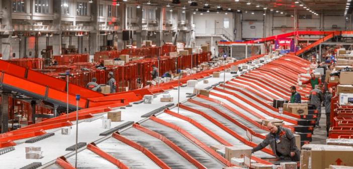 Nova Poshta opens new automated sorting center