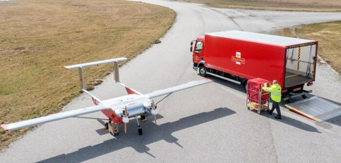 Royal Mail conducts first drone deliveries to an island