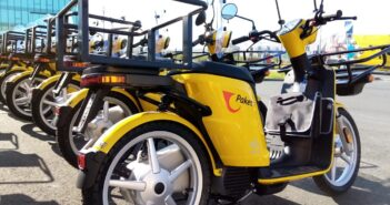 Croatian Post rolls out electric mopeds