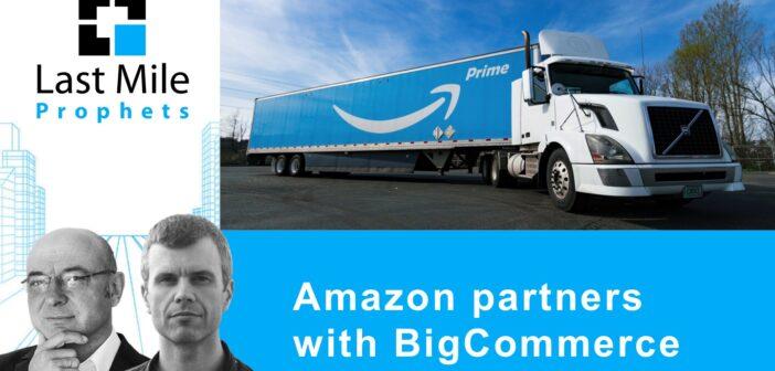 Amazon partners with BigCommerce